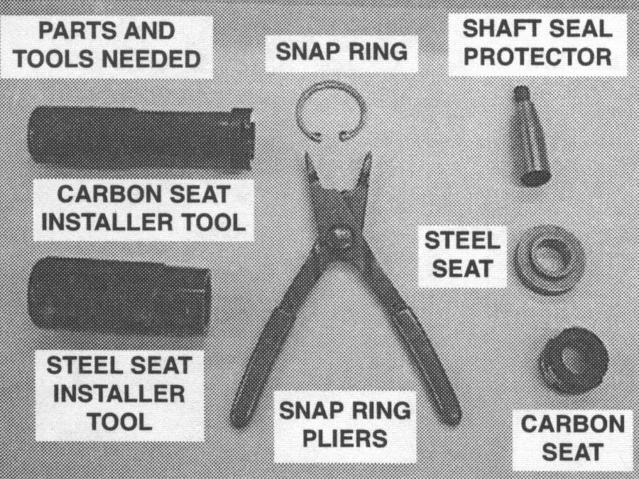 York Compressor and Shaft Seal Identification